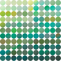 A huge set of gradients of all kinds of green shades. Elements for design.