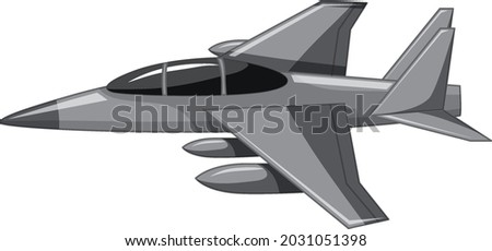 a jet fighter or military