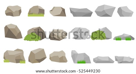 a large set of stones