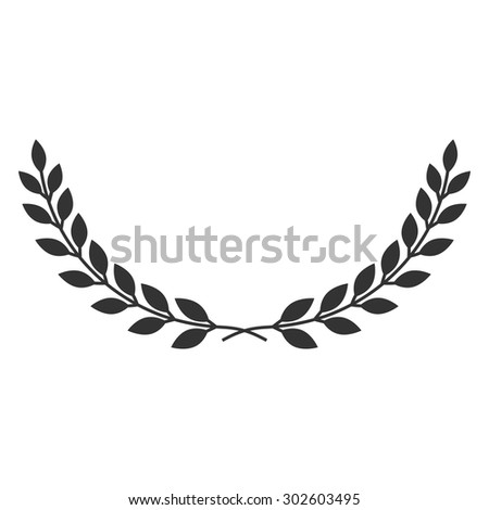 Royalty Free A Laurel Wreath Icon Symbol Of 363597938 Stock