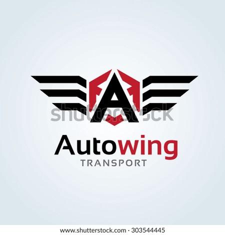 a letter automotive car logo