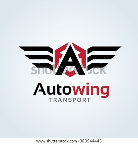 a letter logo automotive car