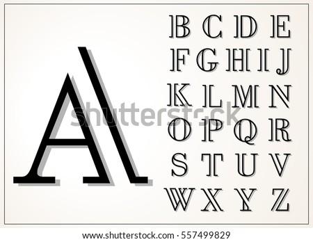 Pen with light writing alphabet