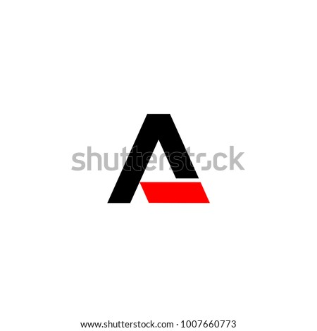 a logo letter vector
