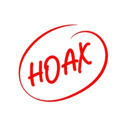 a logotype or typography about hoax, fake news icon, hoax icon