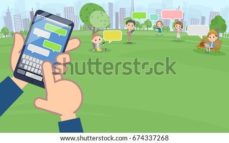 a lot of people enjoying sms in