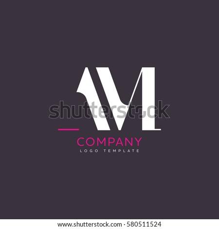A M logo design