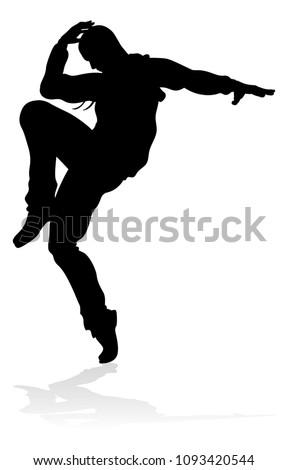 a male street dance hip hop