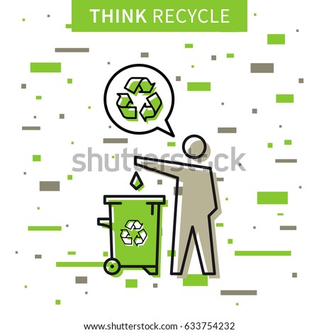 a man drops garbage into a