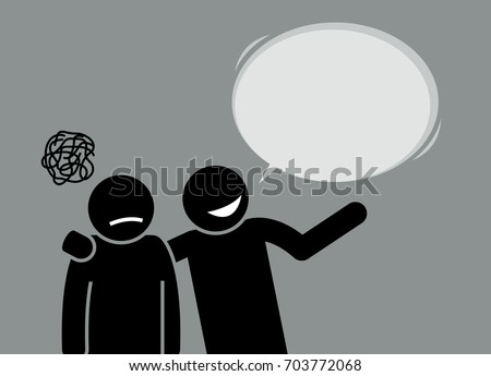 A man happily showing his friend and telling him about the world they lived in. His friend seems unimpressed and is actually upset about the whole situation.