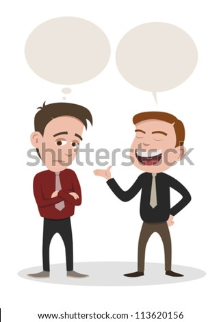 a man speaking and a man get