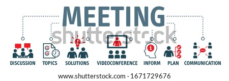 A meeting is when two or more people come together to discuss one or more topics, often in a formal or business setting, but meetings also occur in a variety of other environments