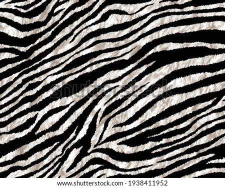 A meter pattern consisting of Zebra tissues