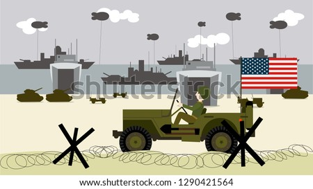 a 1944 military truck on the