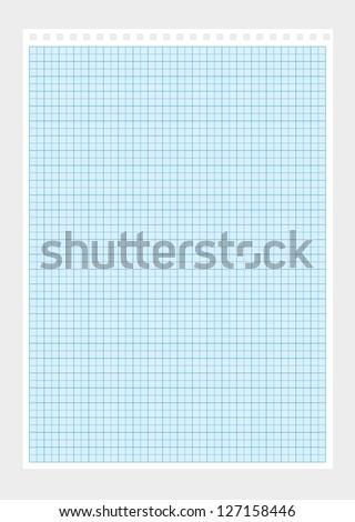 a4 millimeter paper vector