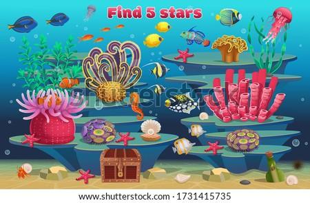a mini game for children find