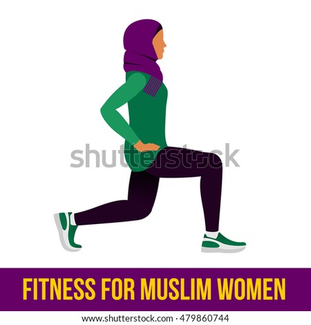 a muslim woman in hijab is