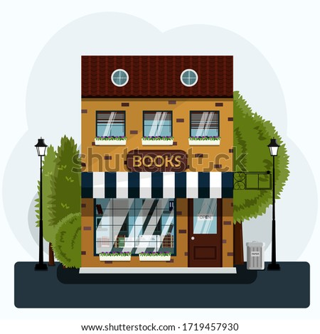 a nice two story bookstore