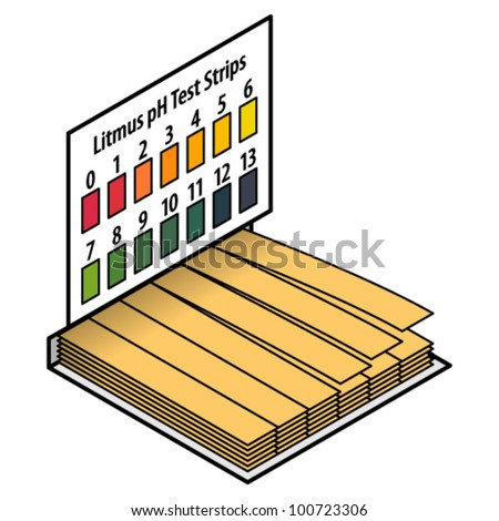 A Pack Of Litmus Paper Tear Off Litmus Test Strips