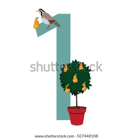 a partridge in a pear tree eps