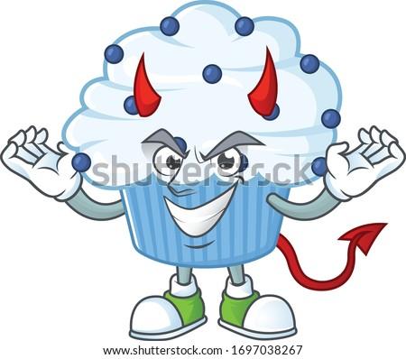 a picture of devil vanilla blue