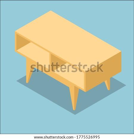 A piece of IKEA furniture, living room.