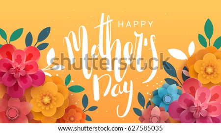 a postcard to the mother's day