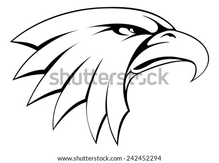 golden eagle vectors download free vector art stock graphics images Duck Clip Art a proud powerful looking bald eagle head icon
