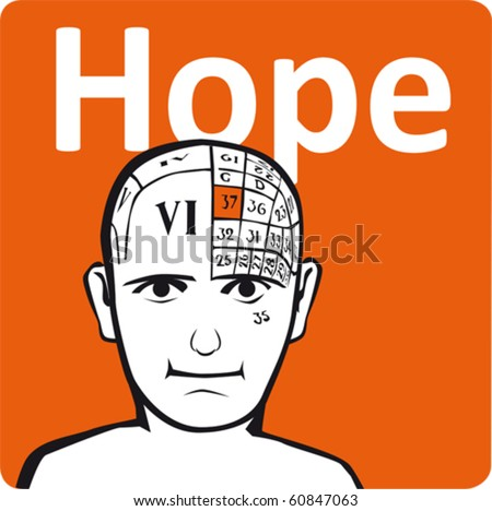 A psychology model - the hope section of the brain