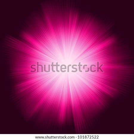 A Purple color design with a burst. EPS 8 vector file included