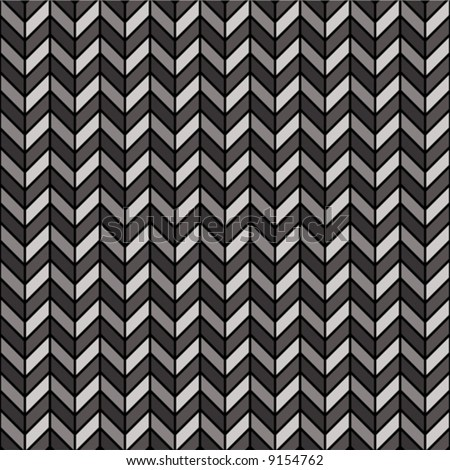 A repeating vector herringbone pattern in black and gray.
