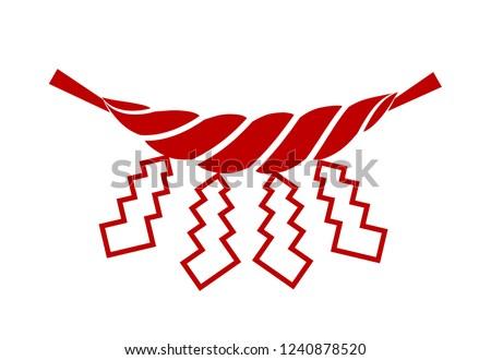 a sacred festoon sacred rope