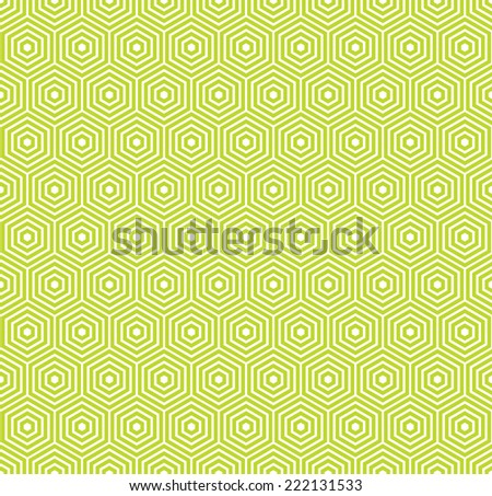a seamless hexagonal pattern