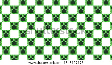 a seamless pattern consisting