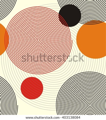 a seamless pattern of spiral