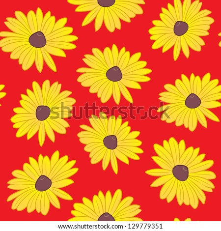 a seamless pattern of the