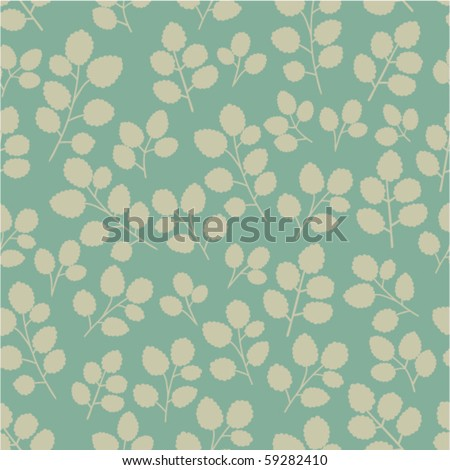 A seamless pattern with branches.