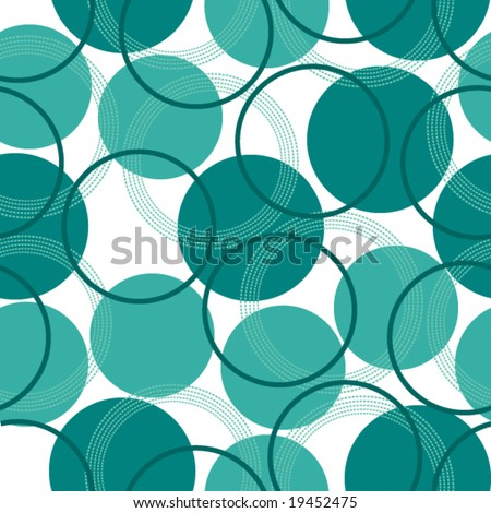 a seamless pattern with circles