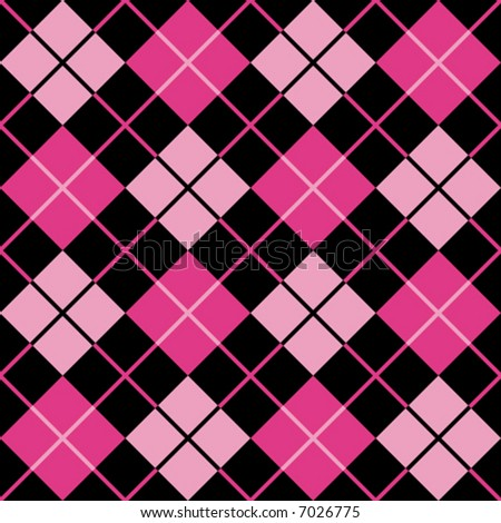 Pink Pattern Twitter Background - Pink & Black Theme for Twitter