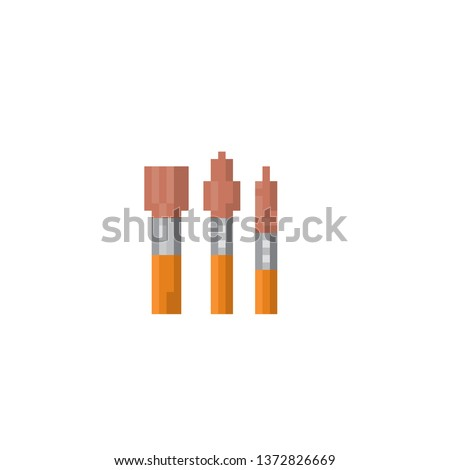 Safety Stock - A set of brushes for painting  Pixel art  Old