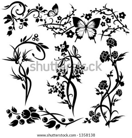 Chinese Flower Pattern Flower Patterns And Designs