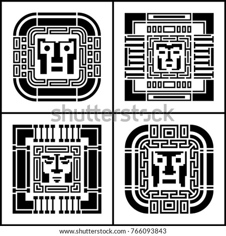 a set of digital pixel cyber