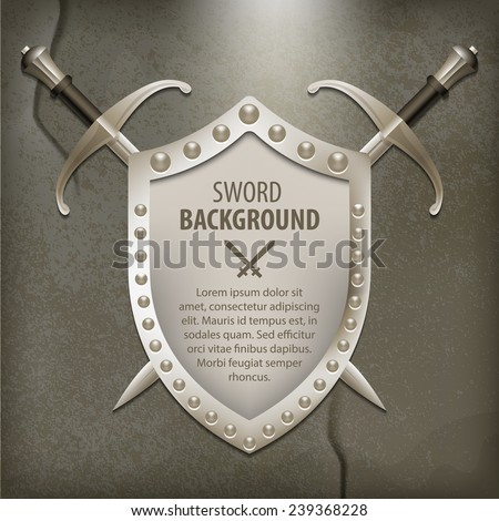 a set of double edged swords