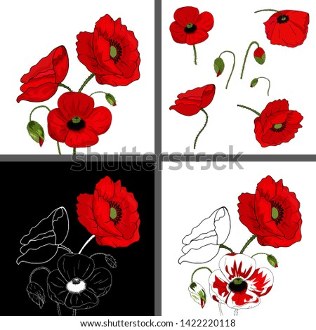 a set of greeting cards with