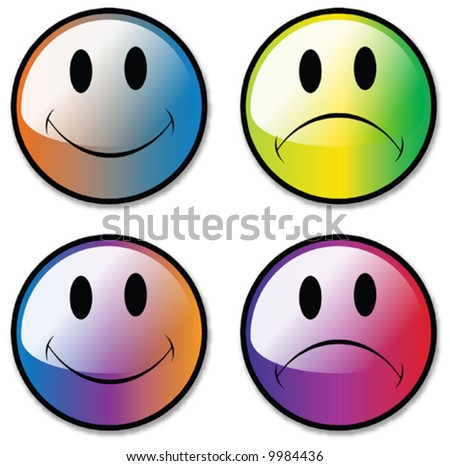 smiley face images. Smiley Face Buttons,