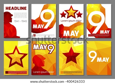 a set of leaflets  brochures