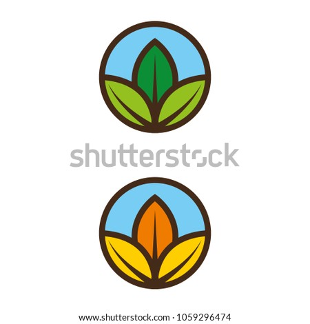 A set of nature icons