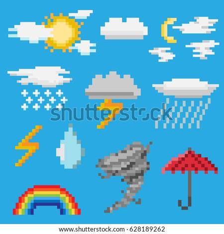 a set of pixel objects