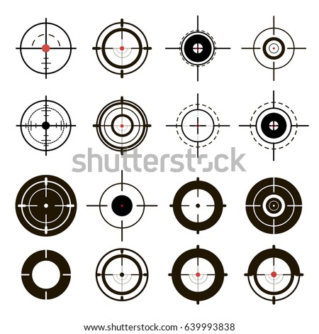 a set of sights  sniper