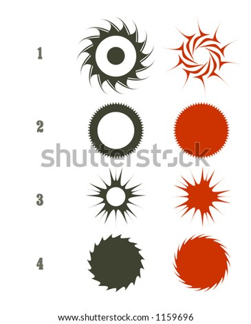 A set of tribal, impact and business seals (Vectors 57)